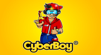Sr. Roy Andrade Is Working On A Video Game At Cyber Boy Corp