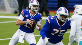 Buffalo Bills' Josh Allen sets record for passing yards in franchise single-season