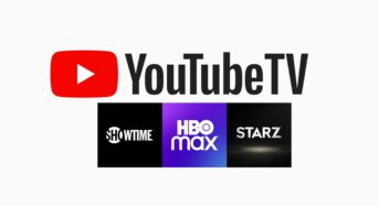 YouTube TV declares latest bundle that includes HBO Max, Showtime and Starz