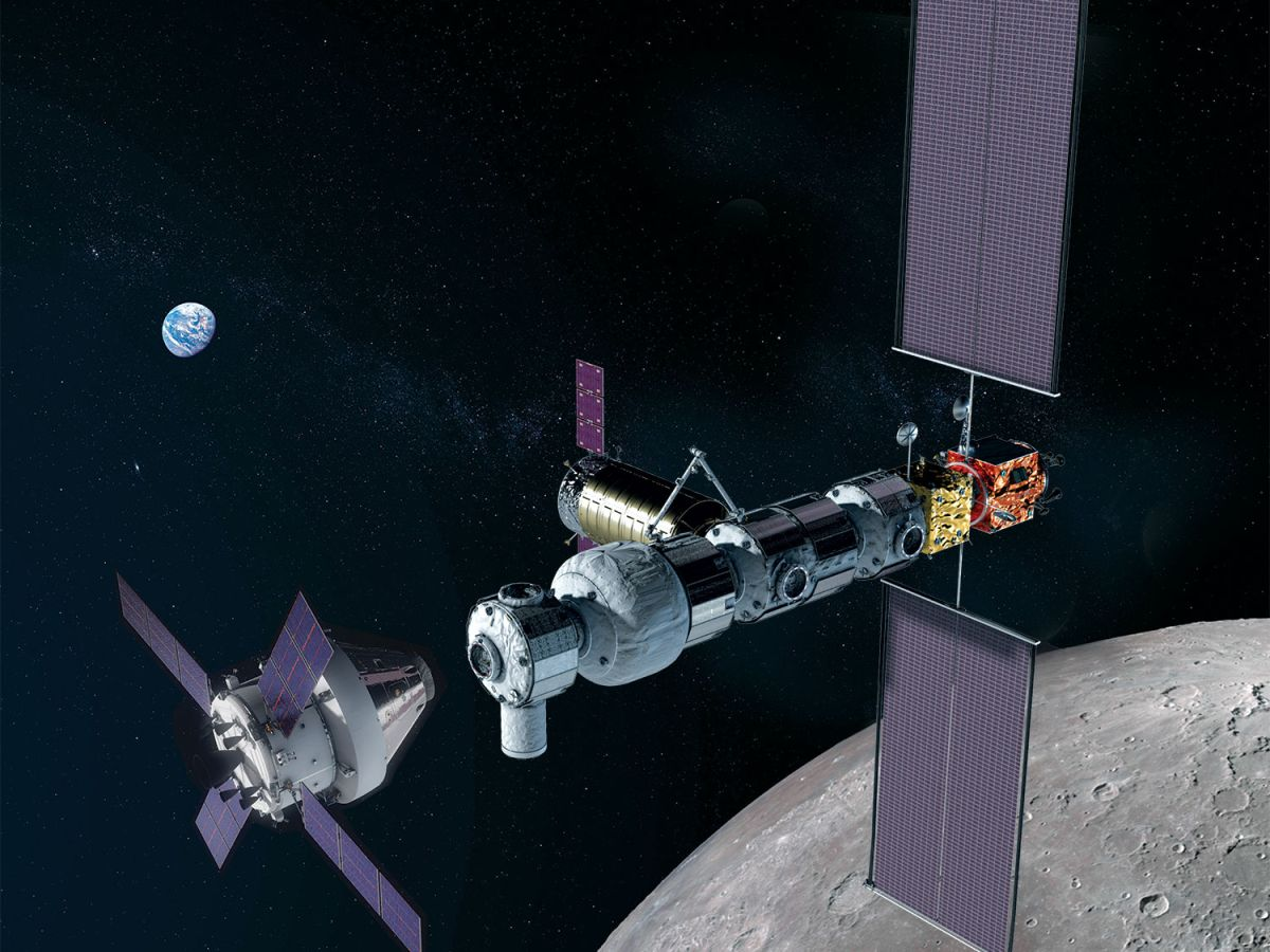 SpaceX currently get a major deal to launch two pieces of a future Moon space station