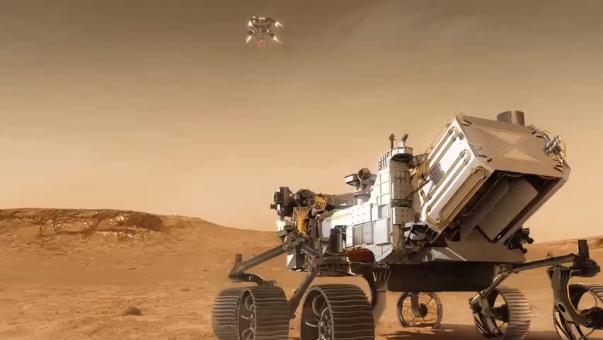 NASA's Perseverance rover successfully lands on surface of Mars for ancient signs of life